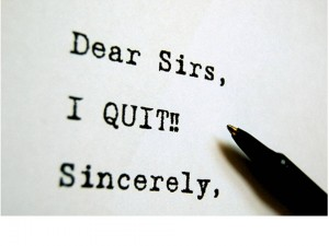 Quitting Note