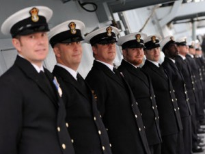 Leaders in the Royal Navy