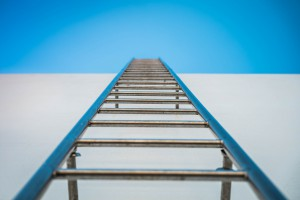 We can all fit on this ladder if we work together.