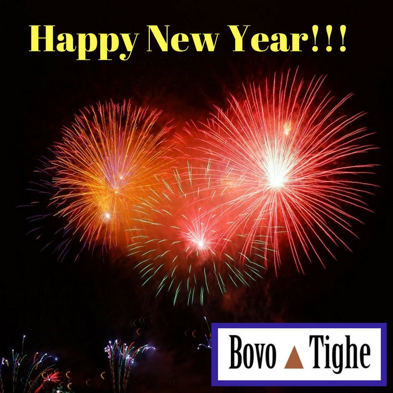 Bovo Tighe New Year 2018 Greeting
